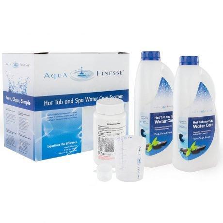Aquafinesse waterbehandelingspakket voor spa